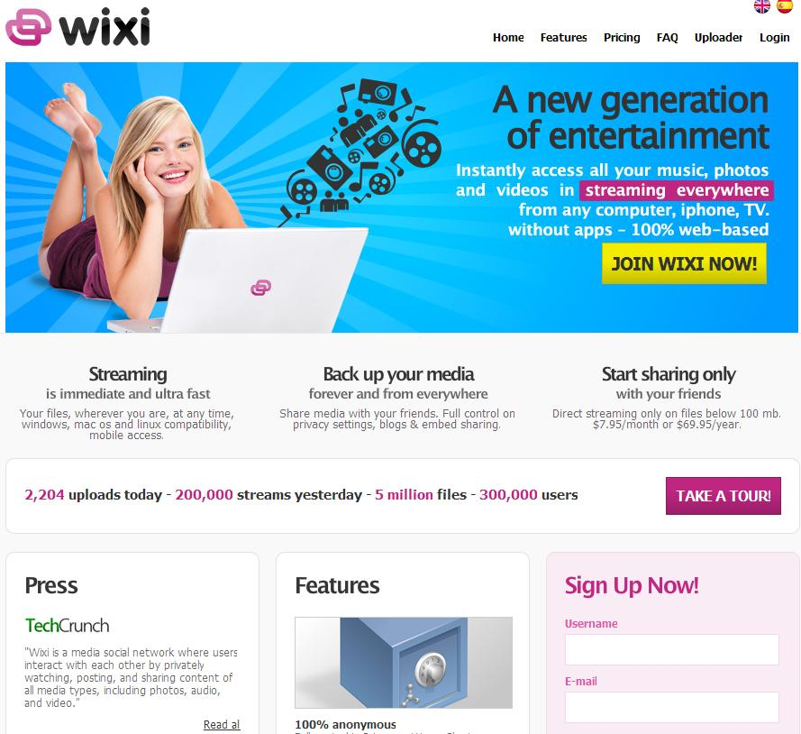 wixi le site de streaming et media center